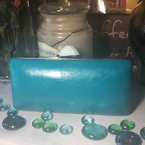 Trina Turk Leather Clutch